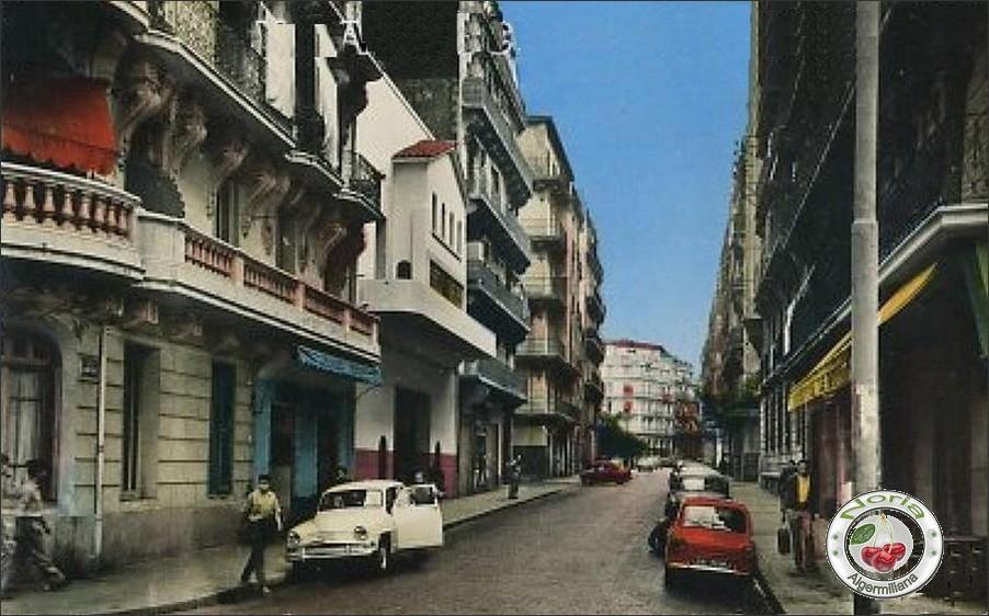 La rue Eugène Robe
