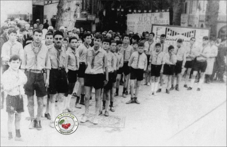 Les Scouts/1962