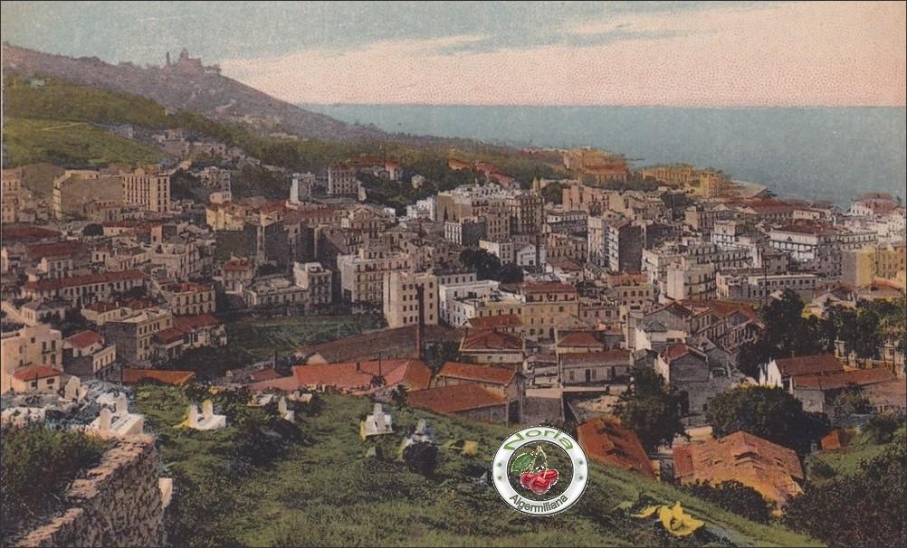 Vue depuis El-Kettar