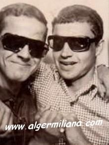 Boualem HADJALIM & Mr.RAHOU, prof de Sport