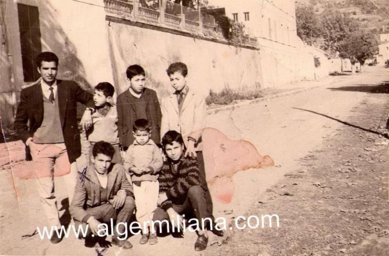18-11-62, Façade Sud du lycée M.ABDOU