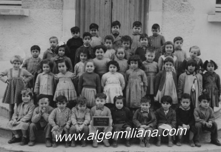 École maternelle 1955