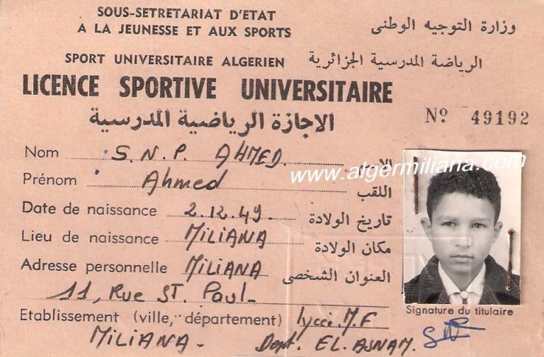 SNP  Ahmed