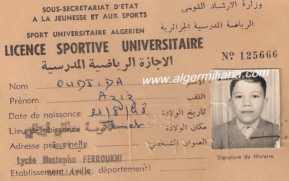 OUDJIDA  Aziz