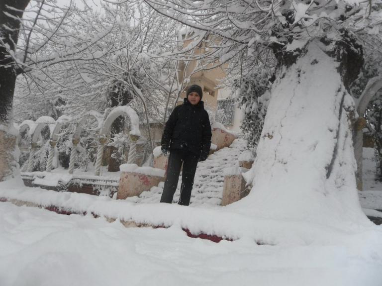 Miliana sous la neige