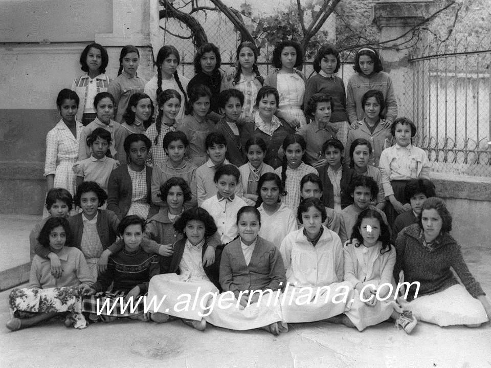 École Dinet/ 1961