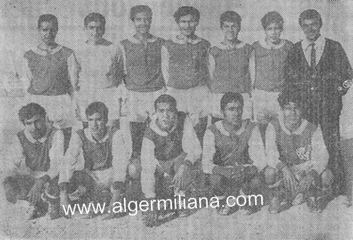 Football, équipe junior lycée M.FERROUKHI