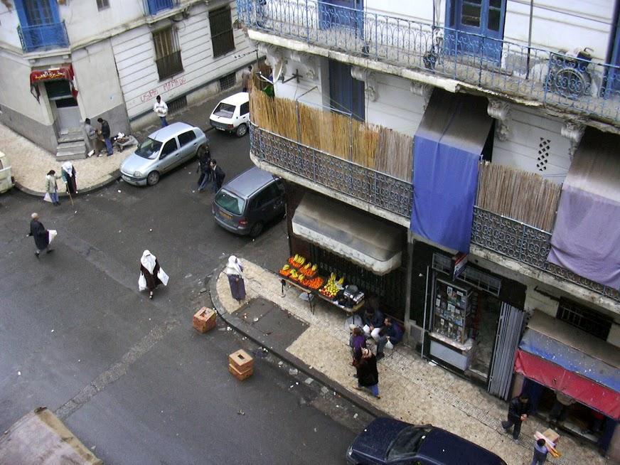 Rue Lestienne - Daoud et rue Eugène Robe