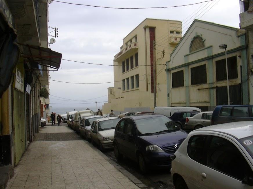 Rue de La Croix vers rue Lazerges