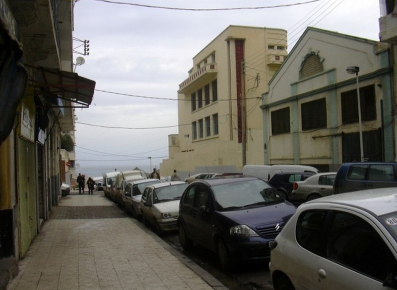rue delacroix vers rue lazerges