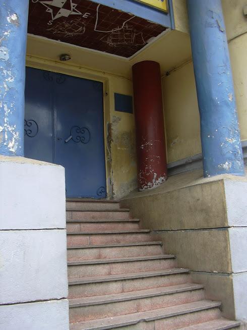 L'école Lazerges/ L'entrée