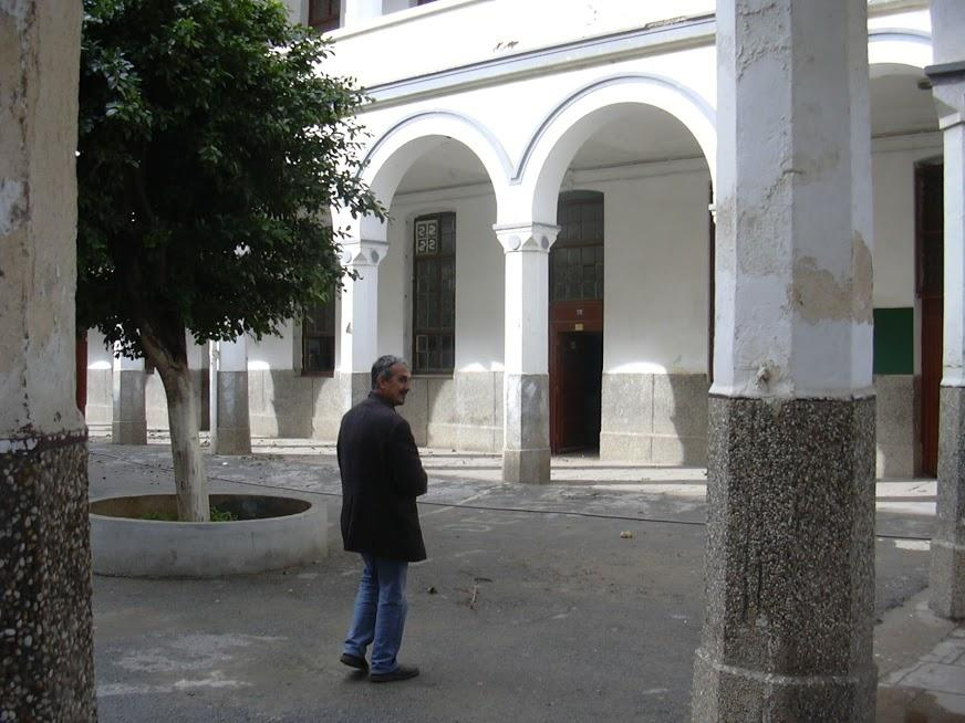 Lycée Bugeaud/ La cour