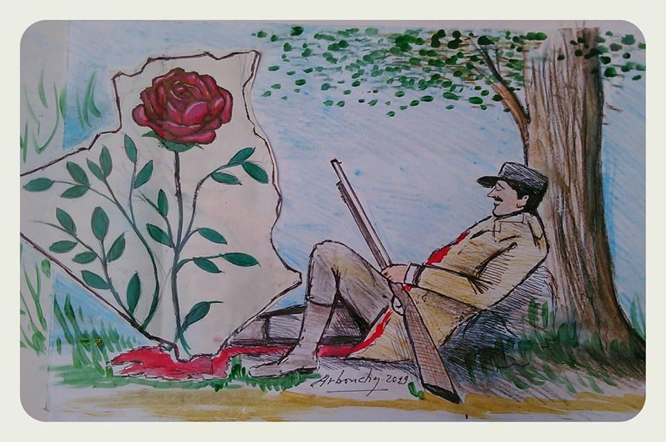 Le sang qui assouvir la rose