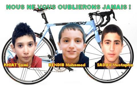 Décès des 3 Cyclistes