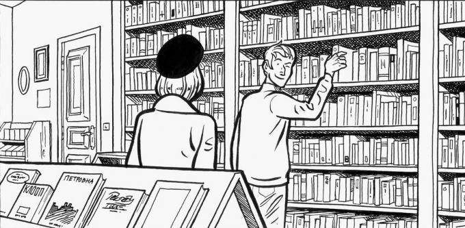 Ce libraire, ancien camarade