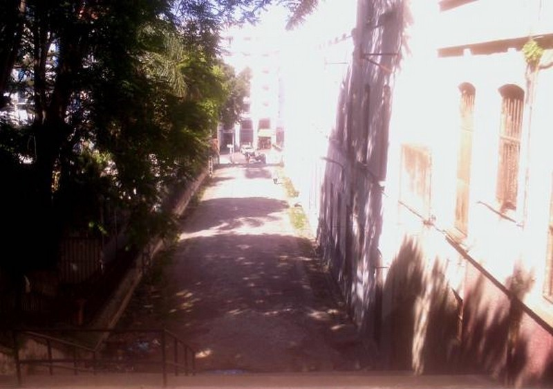 Escalier entre le lycee bugeaud et le jardin marengojj