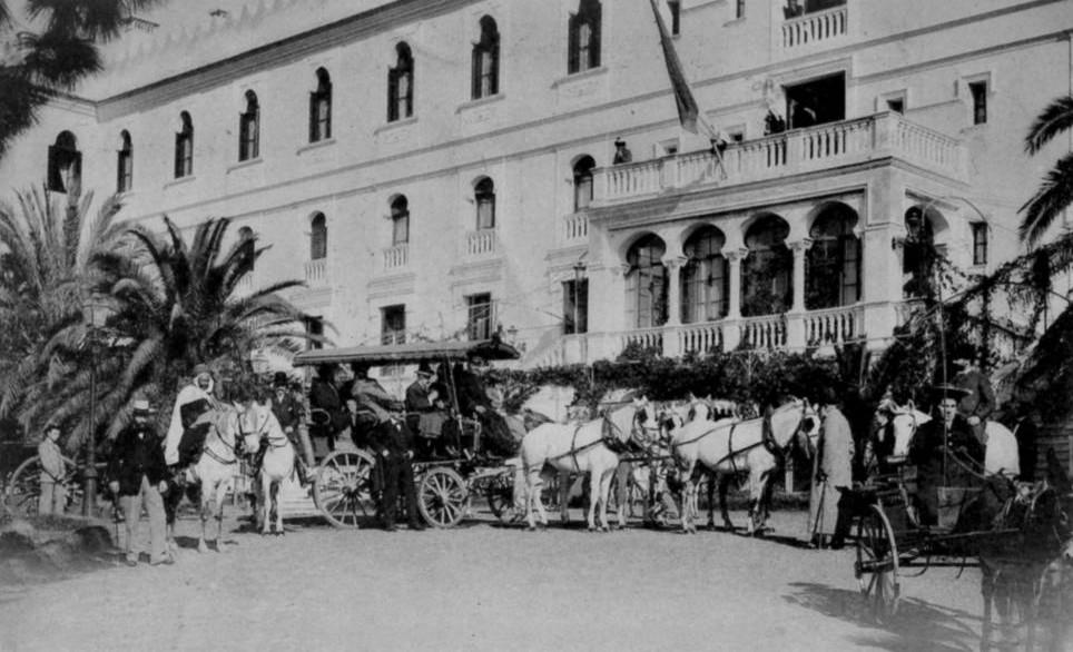 Hammam righa grand hotel diligence depart 1917