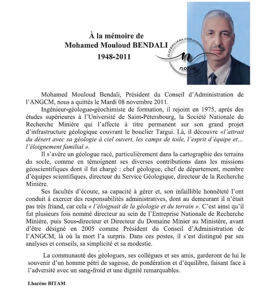 M.BENDALI